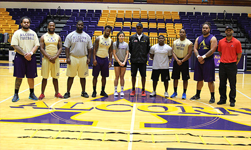 Nascar Pit Crew Salary >> NASCAR Combine: Reps Visit Alcorn to Recruit Pit Crew Members