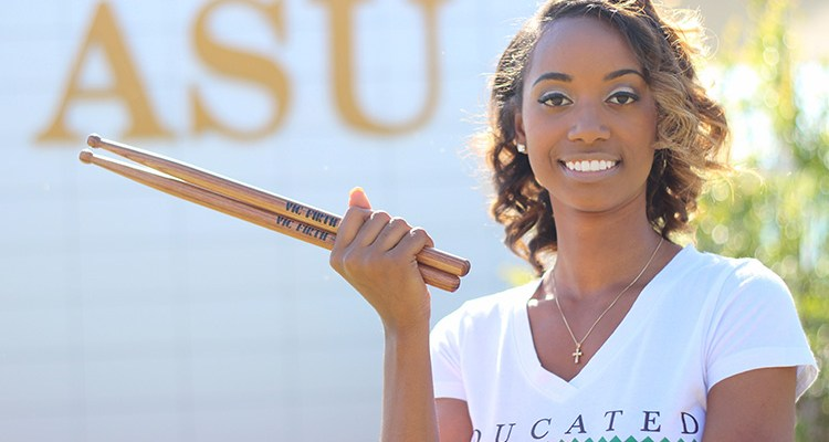 Jazz Kelley: The 1st Female Percussionist to Earn a BA in Music at Albany State