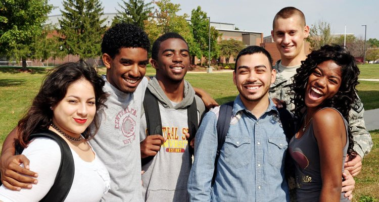 Students on the campus of Central State University enjoy the benefits of Out-of-State tuition.