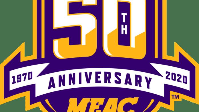 MEAC 50th Anniversary Logol