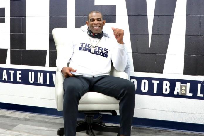 Deion Sanders, Jackson State head football coach