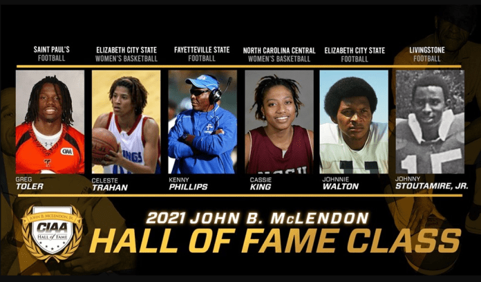 CIAA Hall of Fame Class of 2021