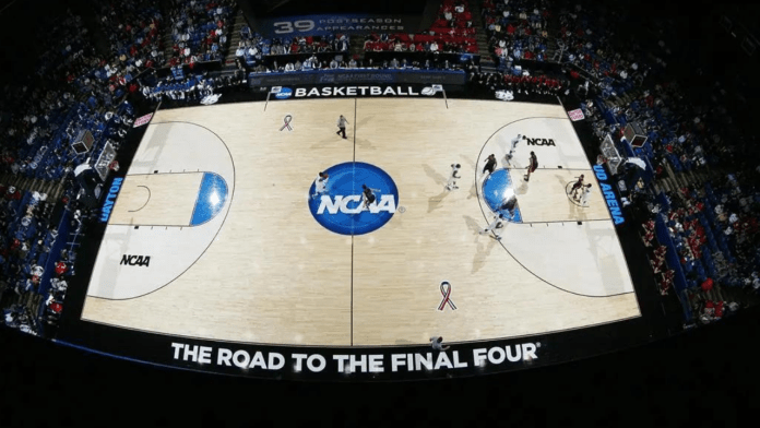 NCAA logo basketball
