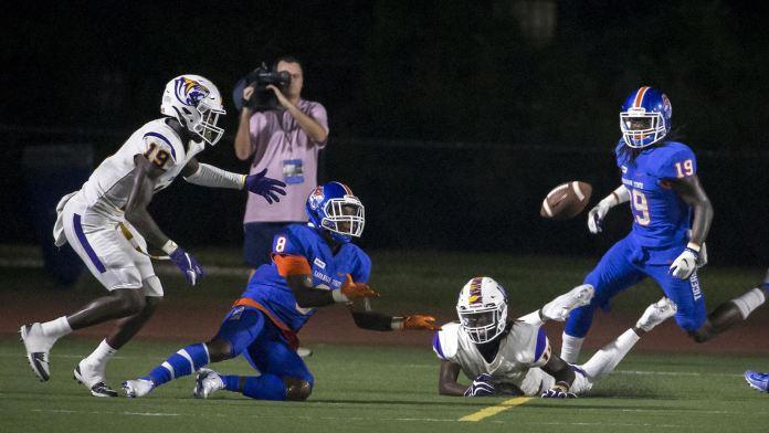 Savannah State vs Benedict football