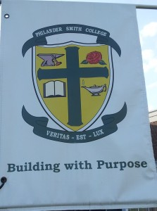 Philander Smith College Banner Building with Purpose