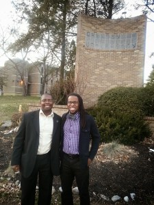 Carl and JT at Cheyney
