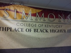 SImmons College of Kentucky The Birthplace of Black Higher Education in Kentucky