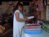 Pregnant and selling chili (North Sumatra, 2004)