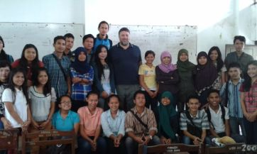 Guest lecture at USU (North Sumatra, 2014)