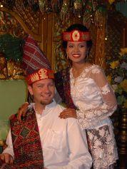 Geoff and Lasma (North Sumatra, 2005)
