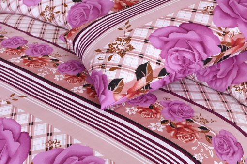 Imported Cotton Satin Bed Sheet 05
