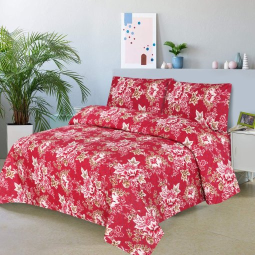 Imported Cotton Satin Bed Sheet 1