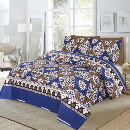 Imported Cotton Satin Bed Sheet 4