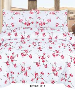 Cotton Bed Sheet High Quality Print 15