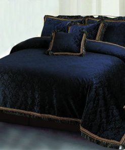 Velvet Bridal Bed Sheet 2