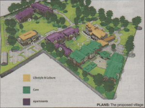 PLANS: The proposed village