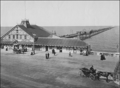 The Pier in the late 1800s