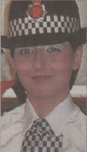 Above, PC Nicola Hughes, and below Fiona Bone, who were both shot dead by Cregan