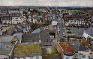 The town centre as seen from Herne Bay clocktower - the most deprived ward in the district, according to CAB