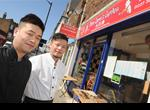 Hiu Liu and Jian Lin at New Chow's Garden, High Street, Herne Bay where they have a 3 out of 5 food hygiene rating (up from 1 out of 5).