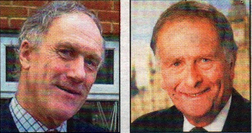 CHANGING TIMES: Jullan Brazier (left) and Sir Roger Gale