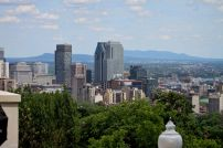 Montreal from Summit Park