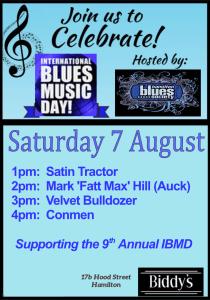 International Blues Music Day 2021 poster