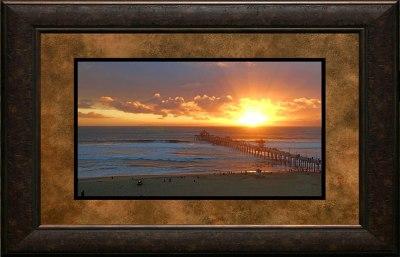 Sunburst Over Catalina