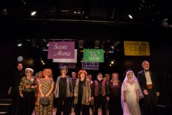 Full company singing at HB Studio, provider of acting classes in NYC