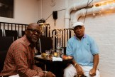 Two men at HB Studio, provider of acting classes in NYC