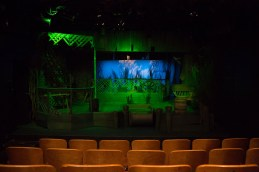 The set of Talley's Folly, performed to benefit HB Studio, provider of acting classes in NYC
