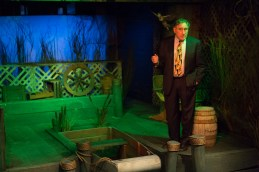 Judd Hirsch is standing on stage in Talley's Folly, a benefit for HB Studio, provider of acting classes in NYC