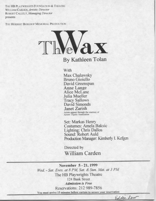 The Wax - HB Studio