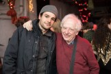 Austin Pendleton and Christopher Abbott at benefit for HB Studio, provider of acting classes in NYC