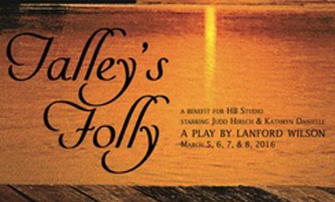 Talley's Folly, benefitting HB Studio's mission to provide affordable acting classes in NYC