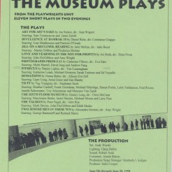 The Museum Plays | HB Studio