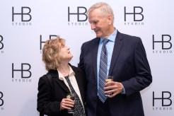 Johanna Leister and Jim Broaddus at HB Studio's Uta Hagen at 100 Gala