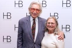 Ted and Aysa Berger at HB Studio's Uta Hagen at 100 Gala