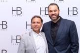David Deblinger and Erik Betancourt at HB Studio's Uta Hagen at 100 Gala