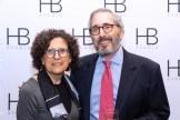 Rochelle Korman and Richard Friedman at HB Studio's Uta Hagen at 100 Gala
