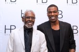 Gus Solomons Jr and Demetrius Blocker at HB Studio's Uta Hagen at 100 Gala