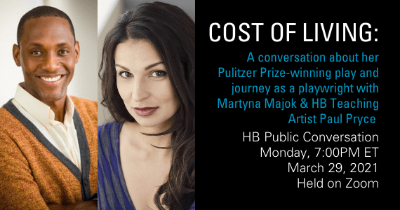 COST OF LIVING with playwright Martyna Majok