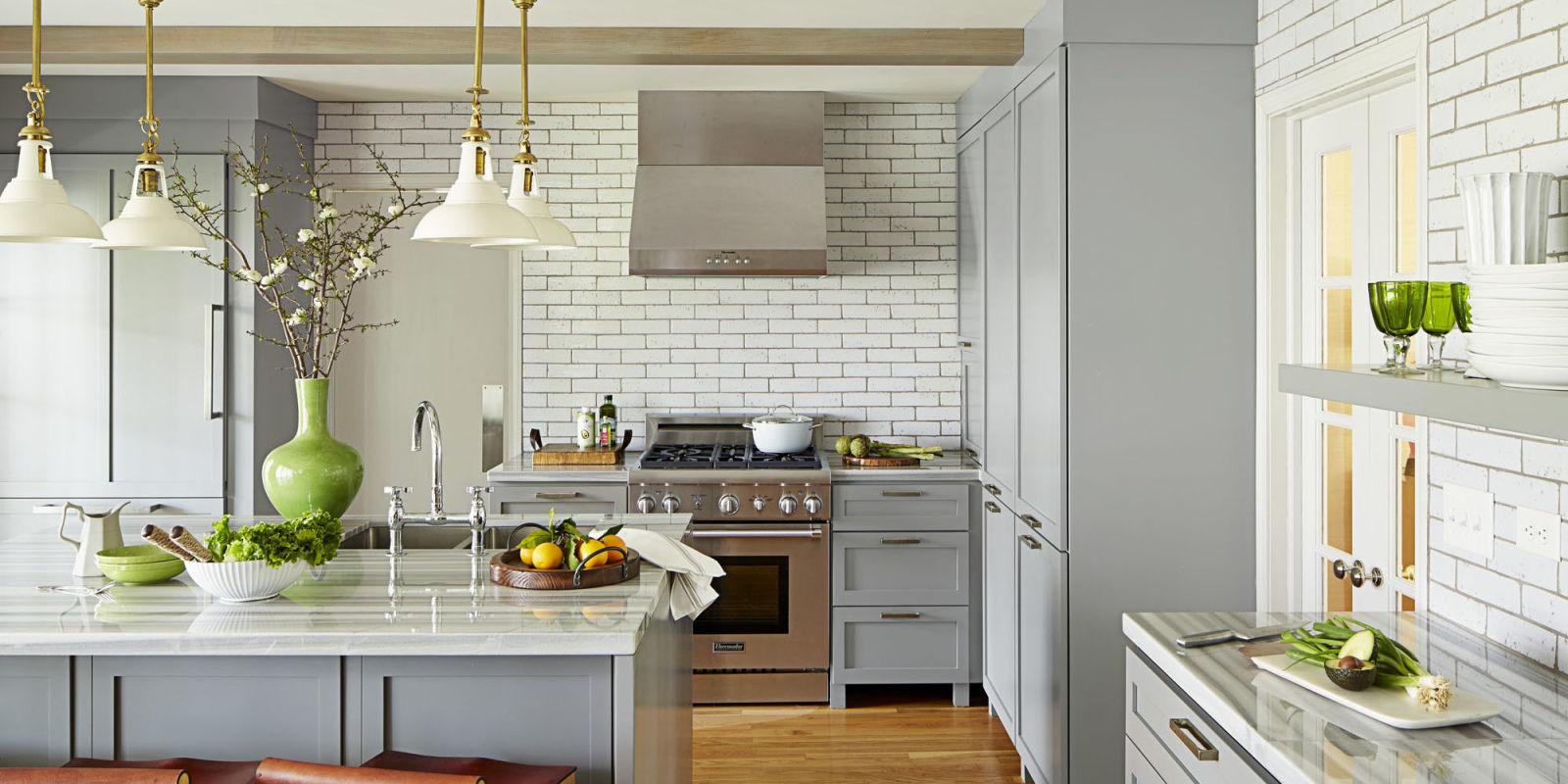 35 Best Kitchen Countertops Design Ideas - Types of ... on Kitchen Countertop Decor  id=94779