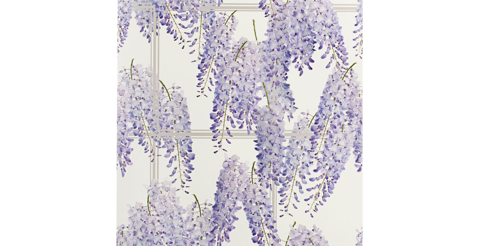 Wisteria Wallpaper Floral Wallpaper Pattern