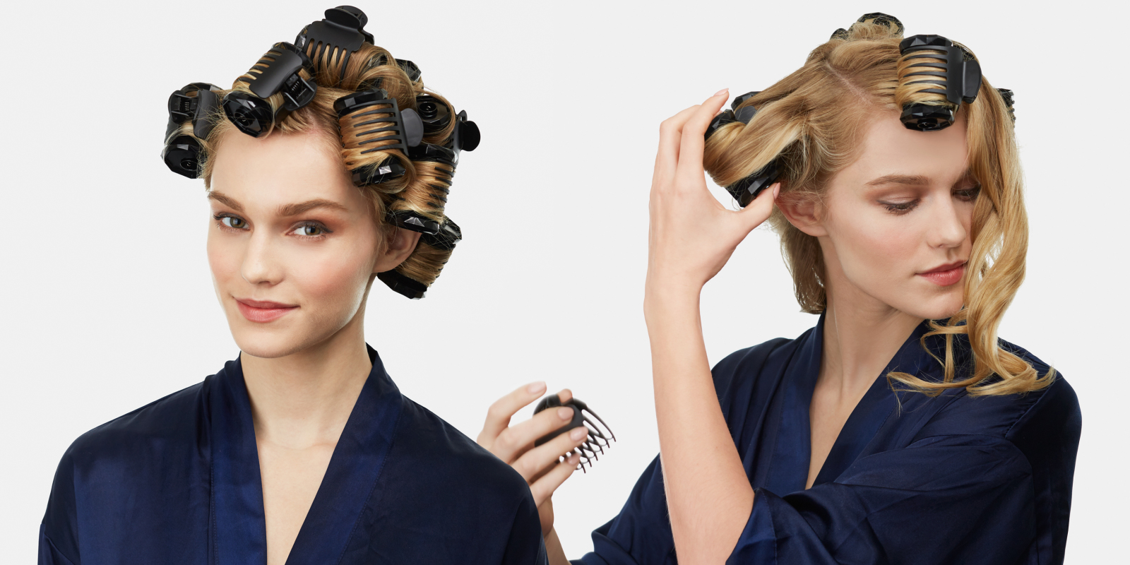 The New Way To Use Hot Rollers A Step By Step Guide To