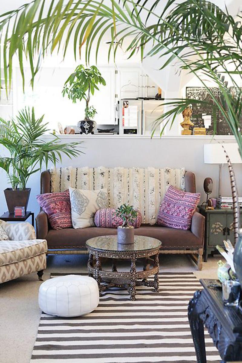 Bohemian Interior Design Trend and Ideas - Boho Chic Home ... on Boho Room Decor  id=46836