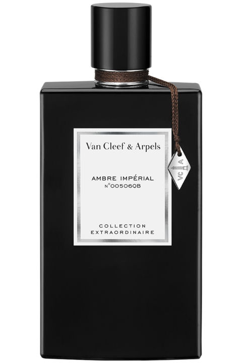 Amber, tonka bean and vanilla transport the wearer to the Old World, where everything feels rich and precious and modern isn't always better.Van Cleef & Arpels Ambre Impérial, $185, neimanmarcus.com.