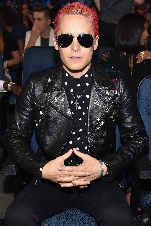Jared Leto Normal Hair At The MTV Movie Awards 35 Photos