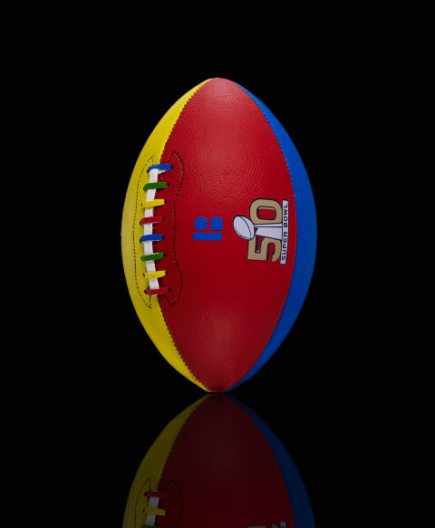 Super Bowl 50, Football, Designer Footballs, Harpers Bazaar