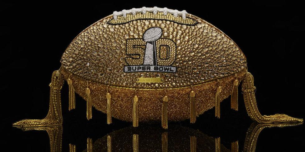 SuperBowl 50, Football, Designer Superbowl Footballs